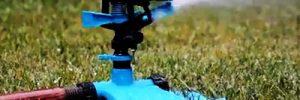Gartenbewässerung mit Hilfe einer Gartenpumpe